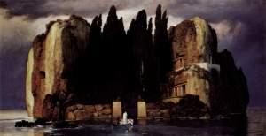 http://en.wikipedia.org/wiki/File:Isola_dei_Morti_IV_%28Bocklin%29.jpg