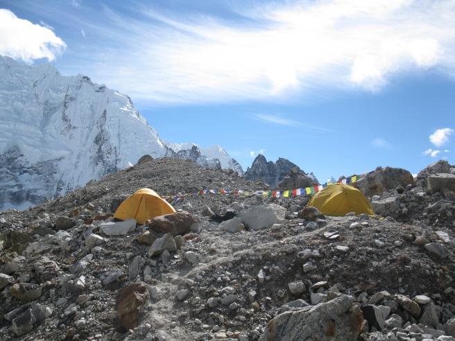 Pumori Base Camp