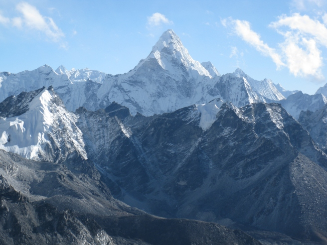 Ama Dablam from Camp 1