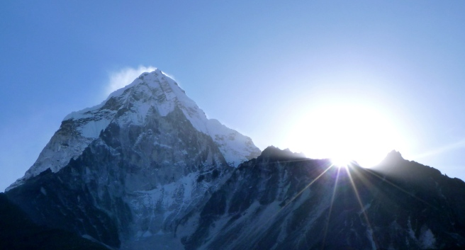 Sunrise on Ama Dablam
