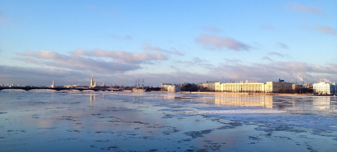 The Neva, Saint-Petersburg