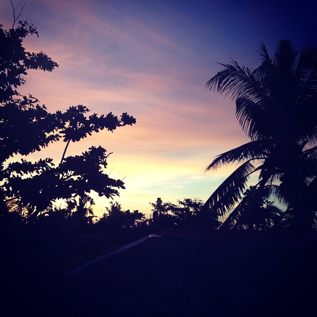 Sunset in the Visayas